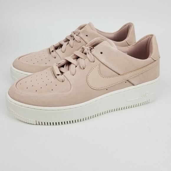 Nike Wmns AF1 Sage Low Particle Beige Shoes 8.5 NWT